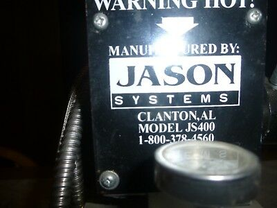 Jason Systems JS400 Foil Embossing Machine No Letters Numbers Working Condition