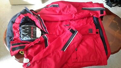 Offshore sailing jacket red size XXL