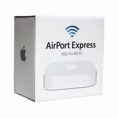 Apple Airport Express A1392 simultaneous dual-band 802.11n WiFi base station