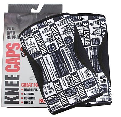 RockTape -  Knee Caps - Knee Sleeves 7mm Small Manifesto