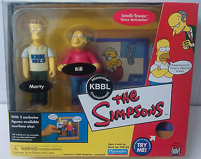 BNIP Radio KBBL & Exclusive Bill + Marty SIMPSONS WOS INTERACTIVE environment
