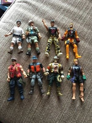 8x Toy Action  Figures