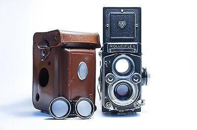 Ultra Rare Rolleiflex 3.5 E3 TLR. Perfect Working, Free Worldwide Shipping.