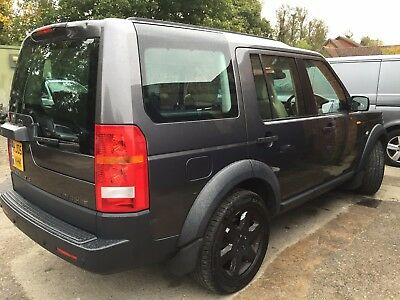 05 Land Rover Discovery 3 2.7 Tdv6 Hse Mega Spec Sat Nav, Leather, Climate,7Seat