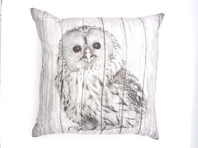 CUTE&CUDDLY SUPER SOFT OWL CUSHION COVERS IN FAUX SUEDE 45X45cms