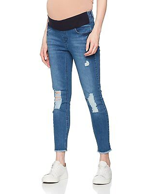 New Look Maternity Underbump Ripped Bowie Authentic, Jeans Maternità Donna S4717