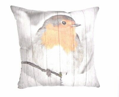 CUTE&CUDDLY SUPER SOFT BIRDY CUSHION COVERS IN FAUX SUEDE 45X45cms