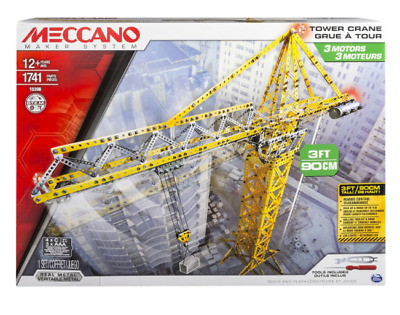 MECCANO 15308 Automated Crane  BRAND New