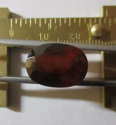 GARNET HESSONITE VARIETY 11.40Ct NATURAL MINED UNTREATED  MF4665