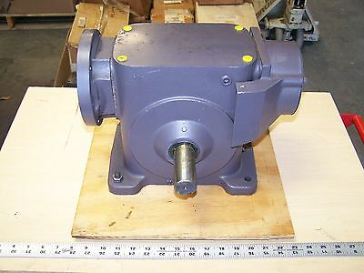 Browning 325C1-LR50FE Right Angle Worm Gear Gearbox Speed Reducer 50:1 Ratio New