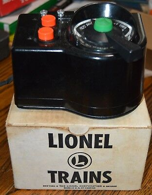 Lionel Trains TRAINMASTER TRANSFORMER Type LW AS-IS BAD WIRE BOX & INSTRUCTIONS