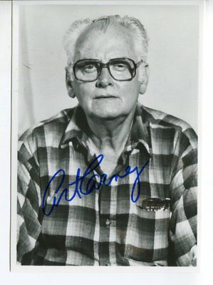 ART CARNEY autograph HAND SIGNED 5732