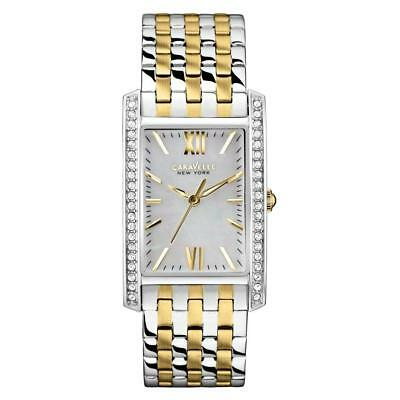 New Caravelle New York by Bulova 45L138 Womens Two-Tone Stainless Steel Watch