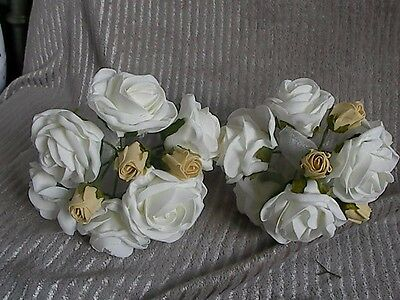 X2 BUNDLE Artificial wedding bouquets.GWC.SEE PICS .99P