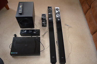 LG  3D Blu Ray Home Cinema System,with awesome sound quality. with remote.