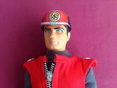 Retro Captain Scarlett Mysterons Figure Red Outfit 1993 Vivid Imaginations