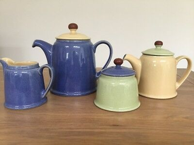 Denby Juice Teapots, Milk Jug And Sugar Bowl