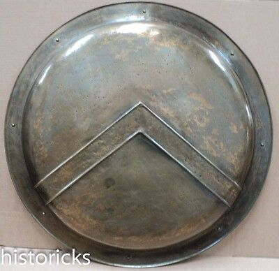 300 Spartan Shield - Steel Made With Bronze Finish