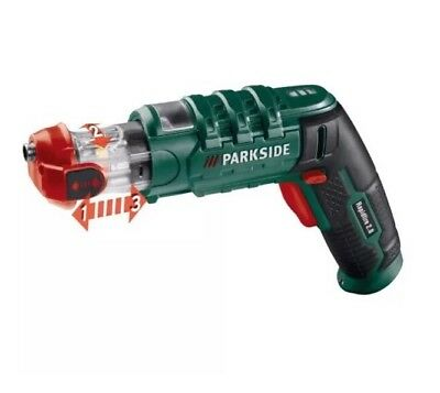PARKSIDE CORDLESS SCREWDRIVER RAPIDFIRE 2 2017EDITION 3,6V/1,5A Made In Germany