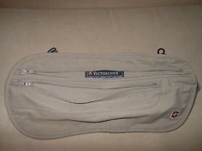 Victorinox deluxe concealed bum bag money pouch security belt travel 2 pockets
