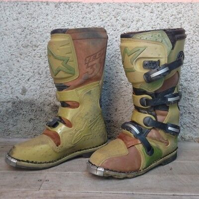 Stivali Alpinestars TECH 3 motocross/ Off-Road Giallo