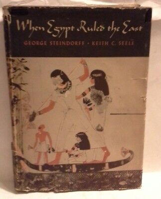 """RARE HC 1ST EDITION 2ND PRINT """"When Egypt Ruled the (Middle) East"""" Archaeology"""