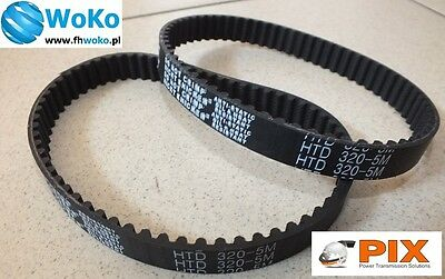Belt PIX 320-5M/20 mm 320-5M-20 320M5 20mm 64 teeth for BladeZ XTR Moby Scooter