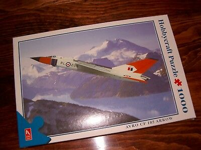 AVRO CF 105 ARROW - 1,000 piece Hobbycraft Puzzle