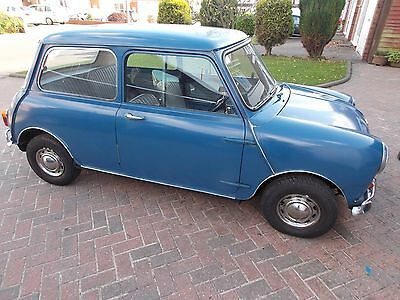 Classic Austin Mini 1967 (one owner from new )M.O.T. DONE TODAY