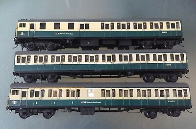 "Professionally Kit Built BR NSE 3 Car ""Thumper "" Diesel Class 205 Set"