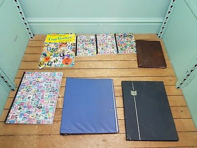 Bundle of 8x Various Stamp Album Books Collections #2