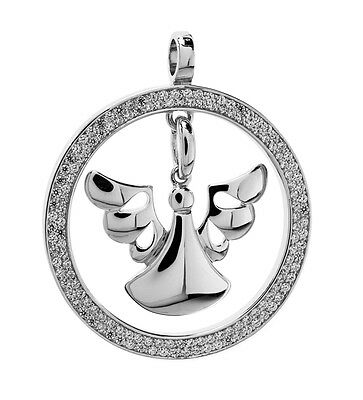 Pendant Angel of Healing Silver Guardian angelvoice Strengthens Your Health