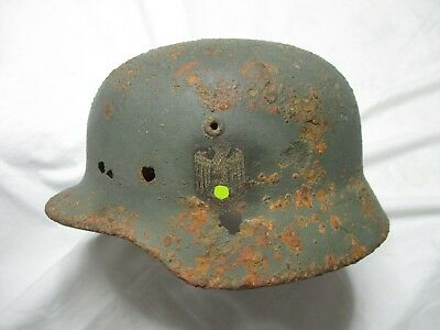 Elmetto tedesco M40 seconda guerra decal WH Linea Gotica German helmet WW2