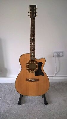 Tanglewood Guitar TW-170AS-CE electro acoustic guitar in excellent condition