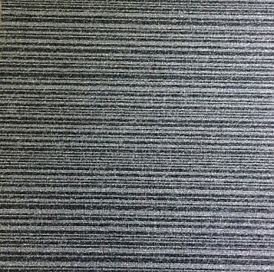Two Way Grey Leading Brand Carpet Tiles 20 for only £25