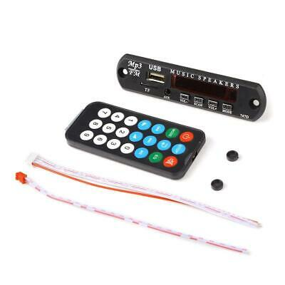 MP3 WMA Placa Módulo Inalámbrico Audio decodificador 5V USB Tf Radio   154