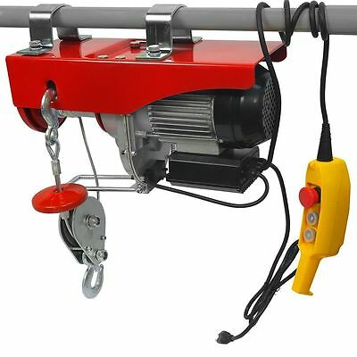 2000 lb Brand New Electric Garage Hoist Winch Hoist Crane Lift Overhead 115v