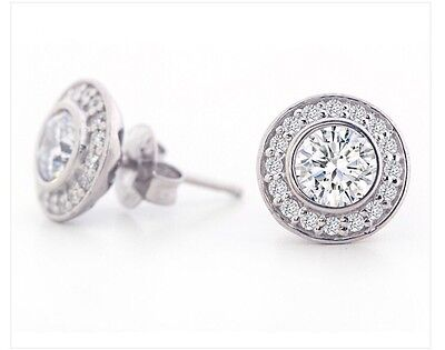 Brilliant Inc Stud Earrings BNIB
