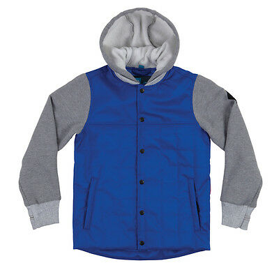 686 Boys Jacket - Bedwin Insulated - Cobalt Youth Medium Age 10/12