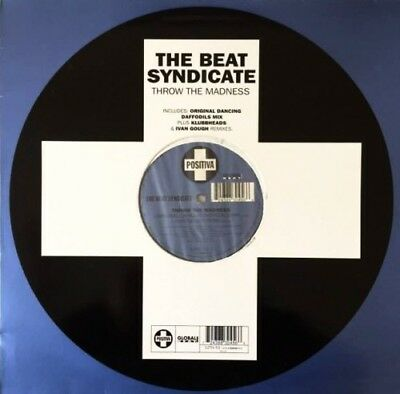 """THE BEAT SYNDICATE - Throw The Madness (12"""") (VG+/VG)"""