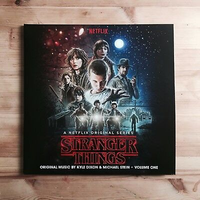 "Stranger Things: Volume One Gatefold Double 12"" Blue / Red Vinyl LP 2016 Invada"