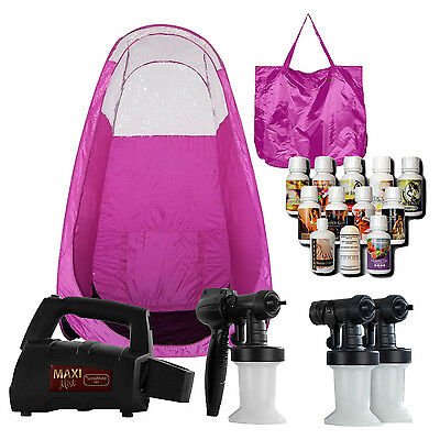 Maximist Spraymate Tnt Sunless Hvlp Unit W Free Tampa Bay Tan Spray & Pink Tent