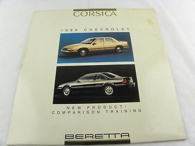 Rare Corsica Beretta New Product Comparison Training 1988 Laser Disc Chevrolet