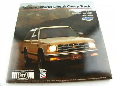 Rare Chevrolet Trucks New Product Training 1986 Laser Disc