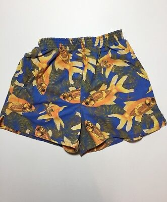 Vintage Joe Boxer Girlfriend Boxer Shorts Goldfish Funky 90's Quirky Fun