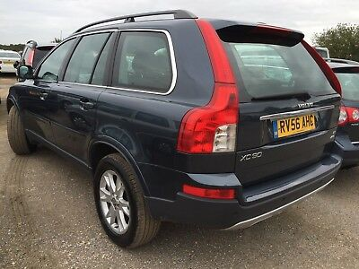 56 Volvo Xc90 2.4 D5 185 Bhp Se 7 Seats, Leather **very Rare Manual** History Et