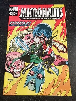 Micronauts#41 Incredible Condition 9.0(1982) Dr.Doom App!!