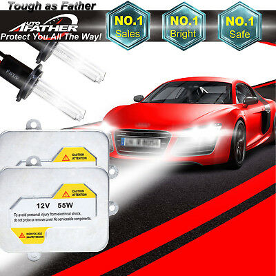 Hid Conversion Kit H7 H1 H3 H11 9006 9005 Xenon Headlight Bulbs 55W Ballast Lamp