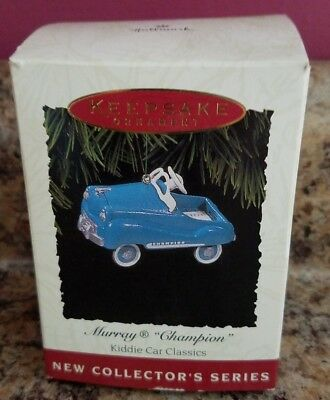 Hallmark Ornament 1994 MURRAY CHAMPION 1st in Kiddie Car Classics Series MIB