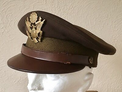US Army Officers Cap WW2